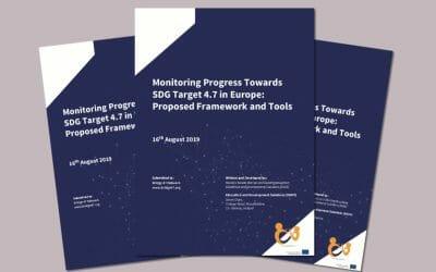 Monitoring Progress toward SDG 4.7 target in Europe – framework and tools