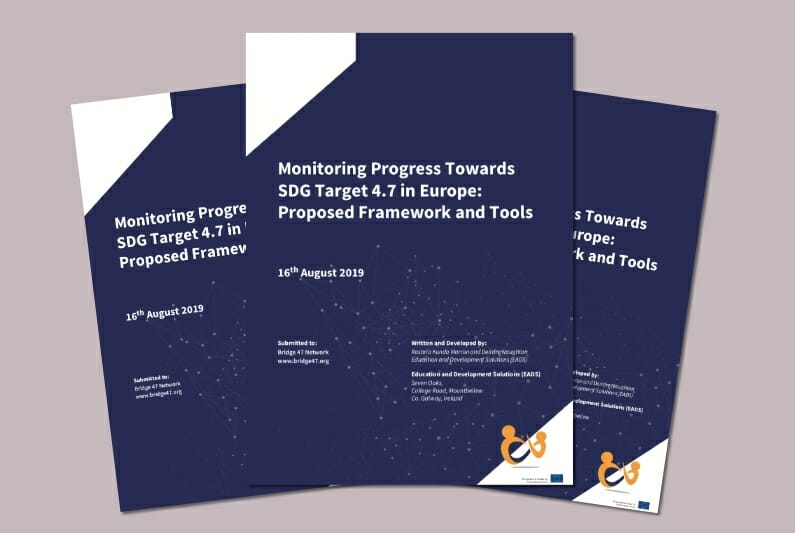 Monitoring Progress toward SDG 4.7 target in Europe – framework and tools