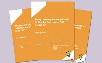 Using Learning Assessment Data to Monitor Progress of SDG Target 4.7