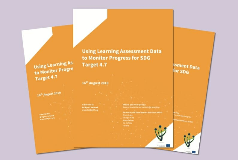 Using Learning Assessment Data to Monitor Progress of SDG Target 4.7